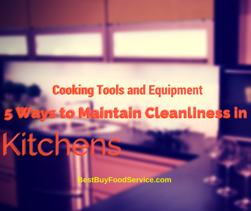Cooking Tools and Equipment: 5 Ways to Maintain Cleanliness in Kitchens