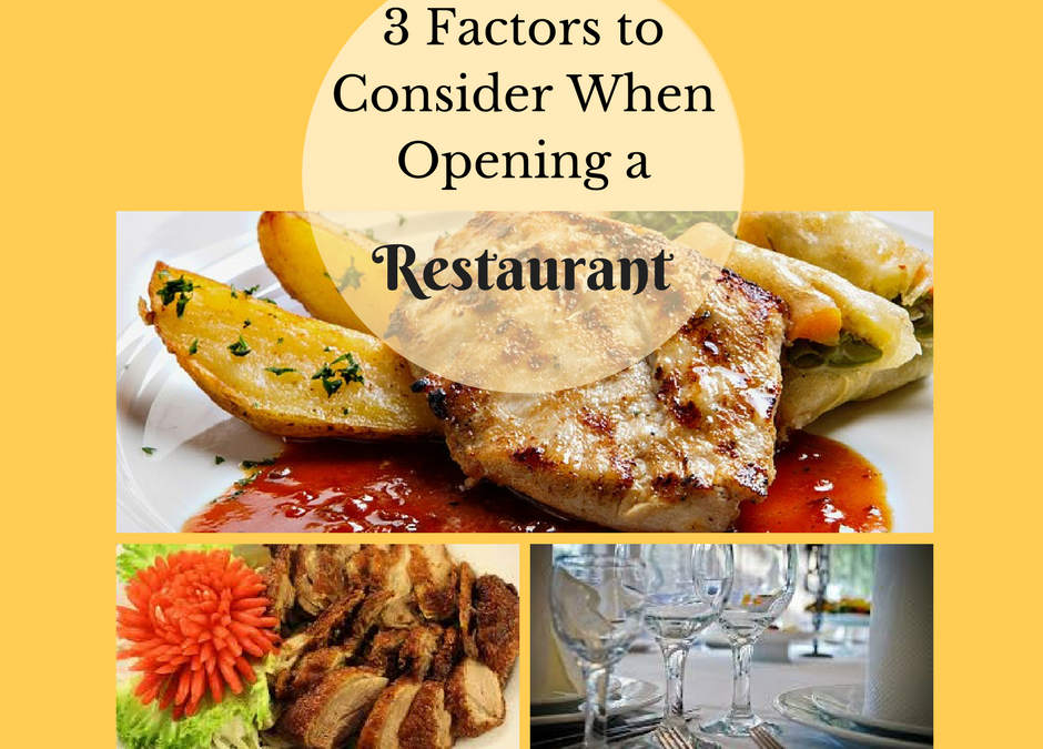 Cooking Tools and Equipment: 3 Factors to Consider When Opening a Restaurant